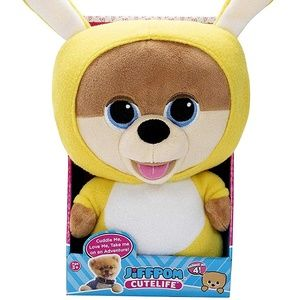 JiffPom CuteLife Collectable Plush Snuggly Bunny